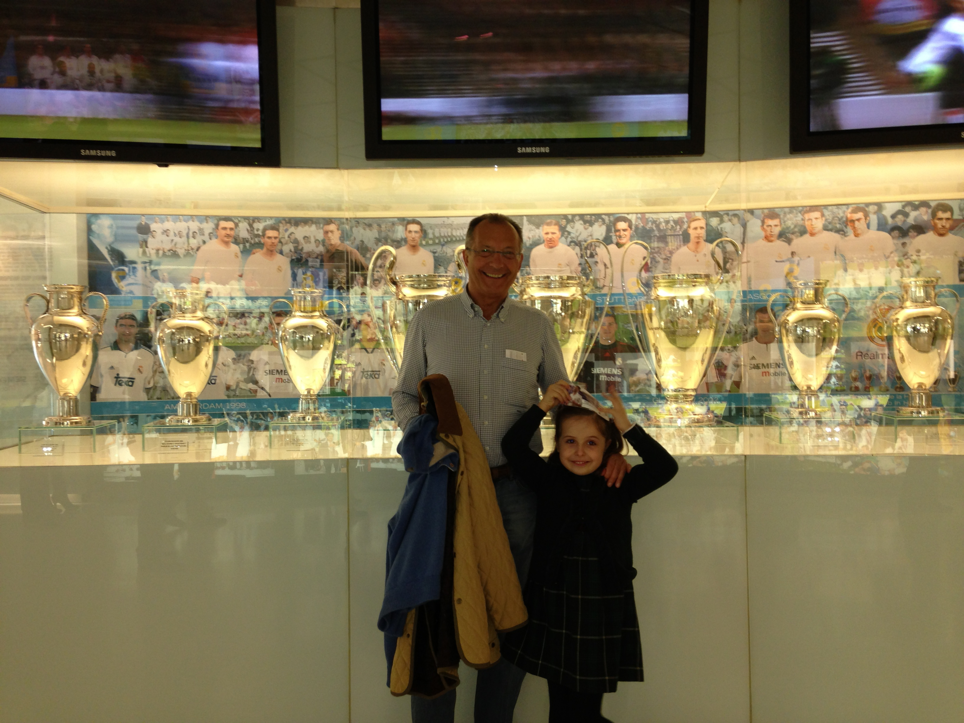 Museo Real Madrid.Museo Real Madrid Mamas Peques Y Super Planes
